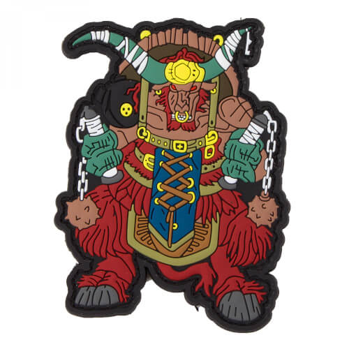 Chinese Zodiac Sign Buffalo - PVC Rubber Patch