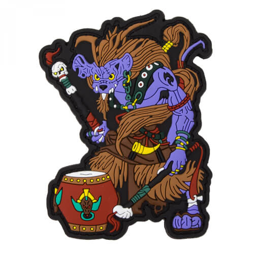 Chinese Zodiac Sign Monkey - PVC Rubber Patch