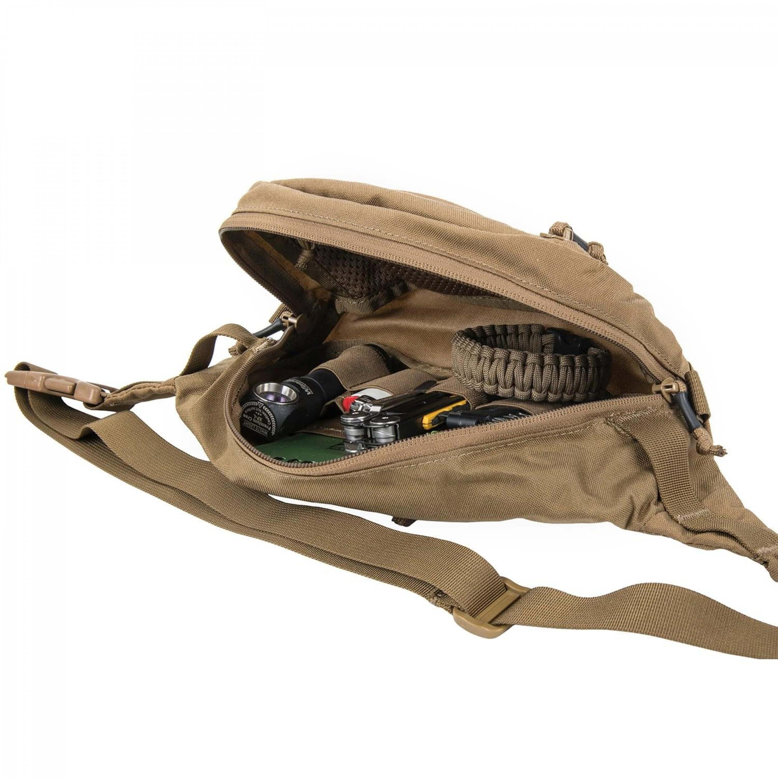 Helikon-Tex Waist Pack Bandicoot Black / Olive Green A
