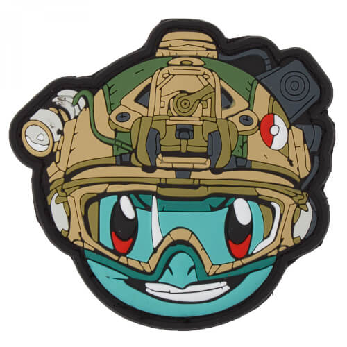 PATCHZONE Tactical Poke Nr. 007 Blau PVC PATCH