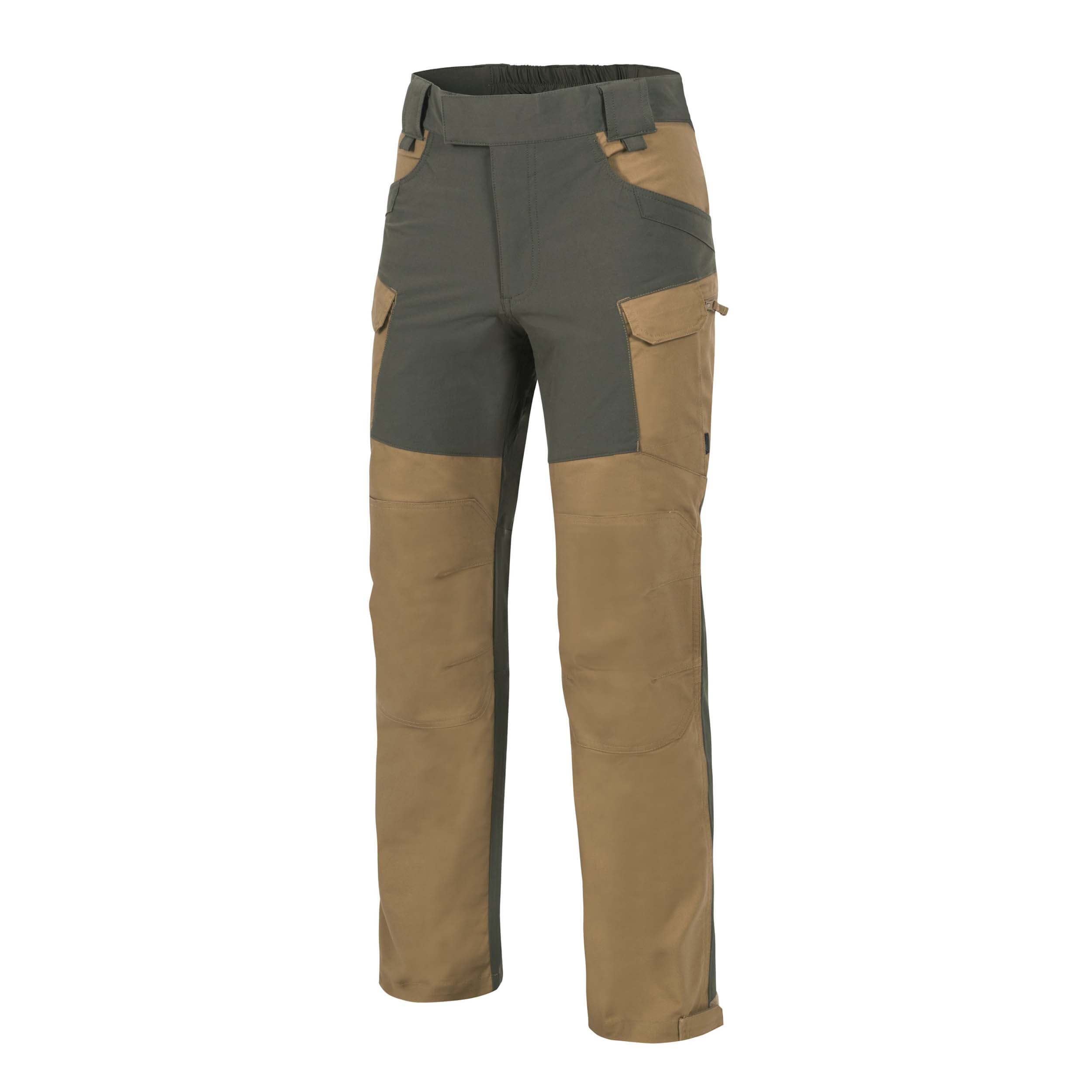 Helikon-Tex Hybrid Outback Pants - DuraCanvas - Coyote / Taiga Green A
