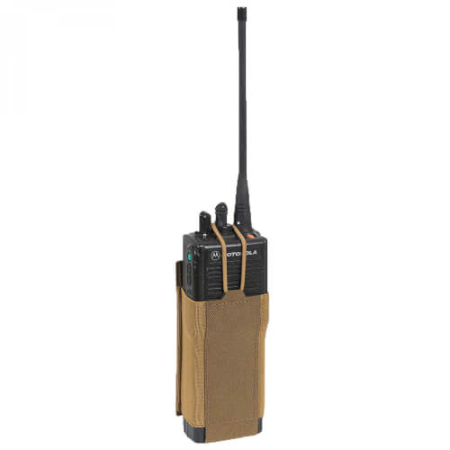 Direct Action LOW PROFILE RADIO POUCH -Cordura- Coyote Brown