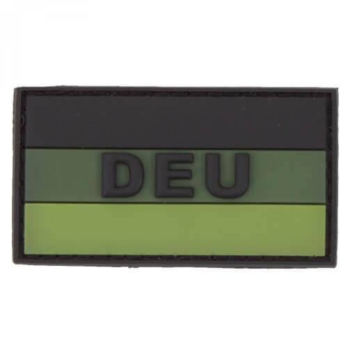JTG Deutschland Flaggen 3D PVC Patch mit DEU klein - forrest