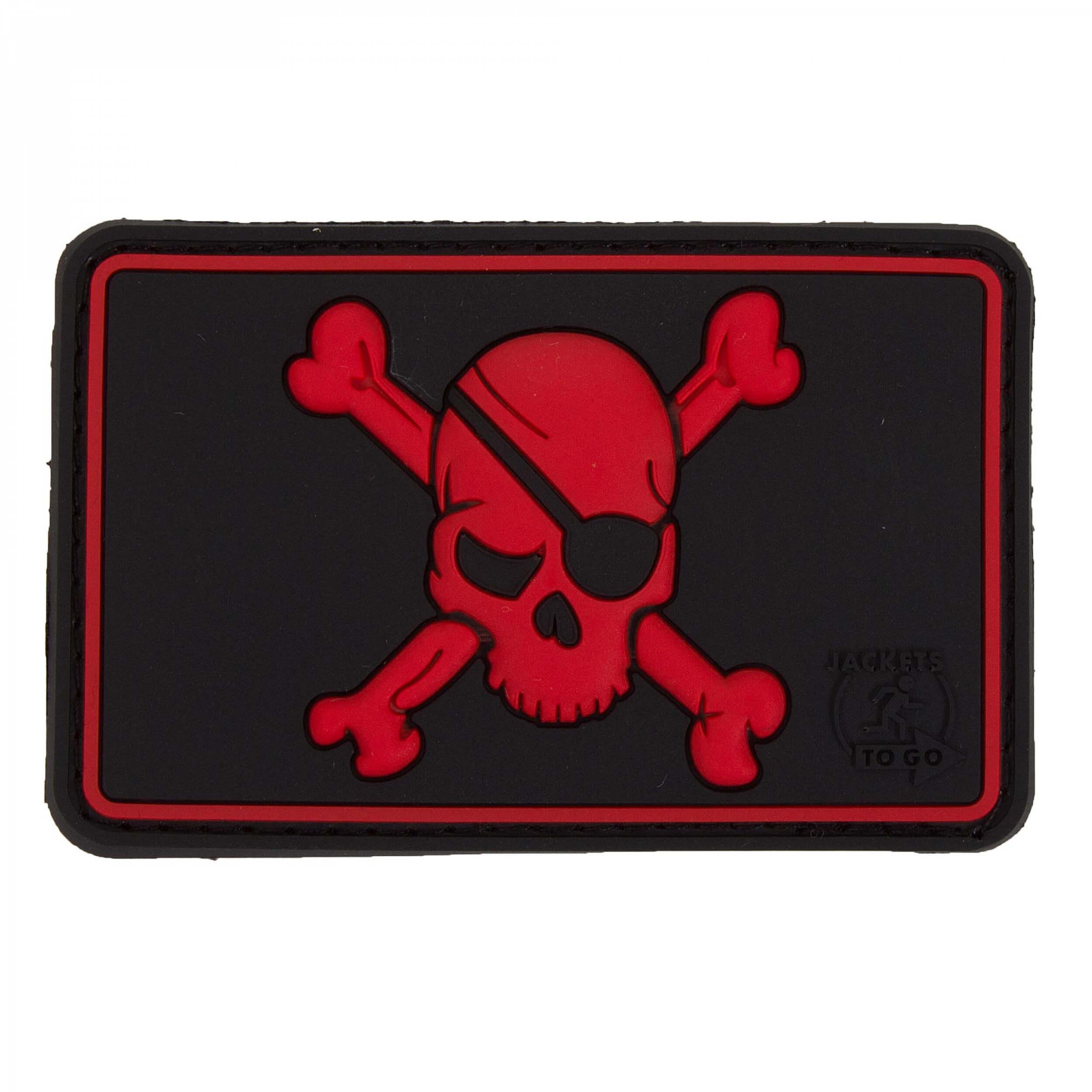 JTG Pirate Skull Patch, blackmedic
