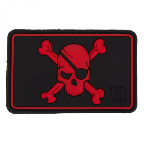 JTG Pirate Skull Patch, blackmedic