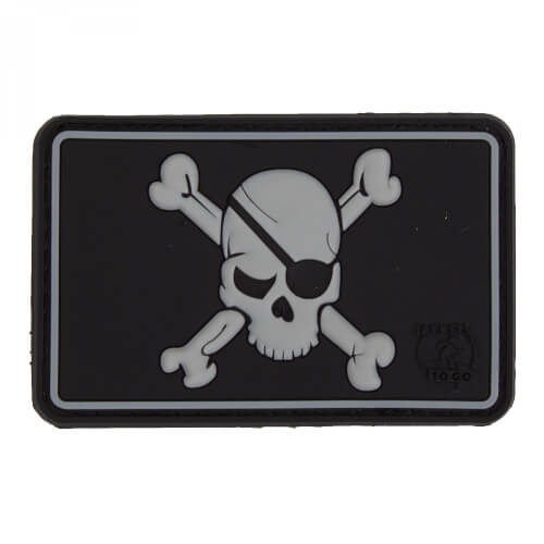JTG Pirate Skull Patch, swat