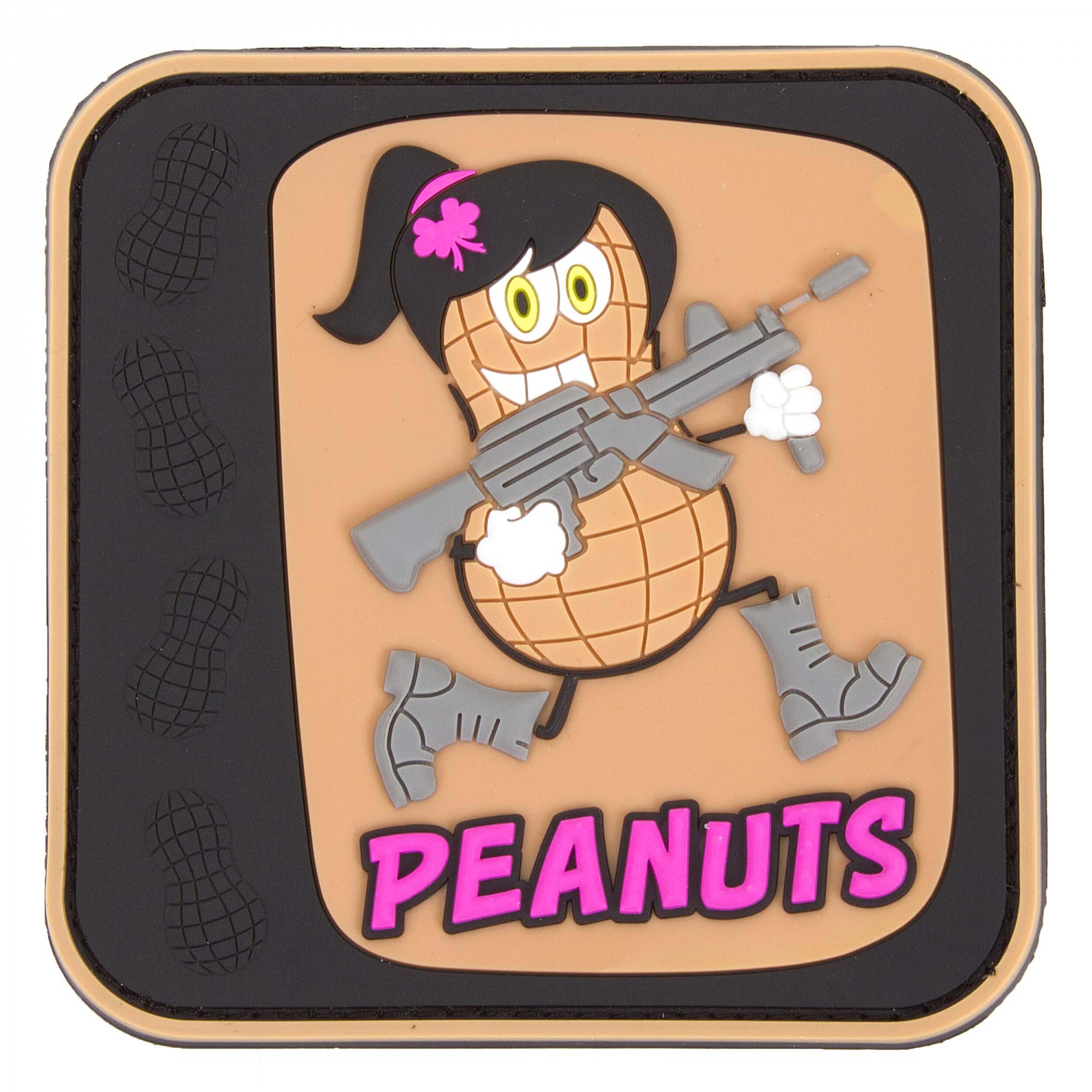 JTG Peanuts Girl, 3D Rubber Patch