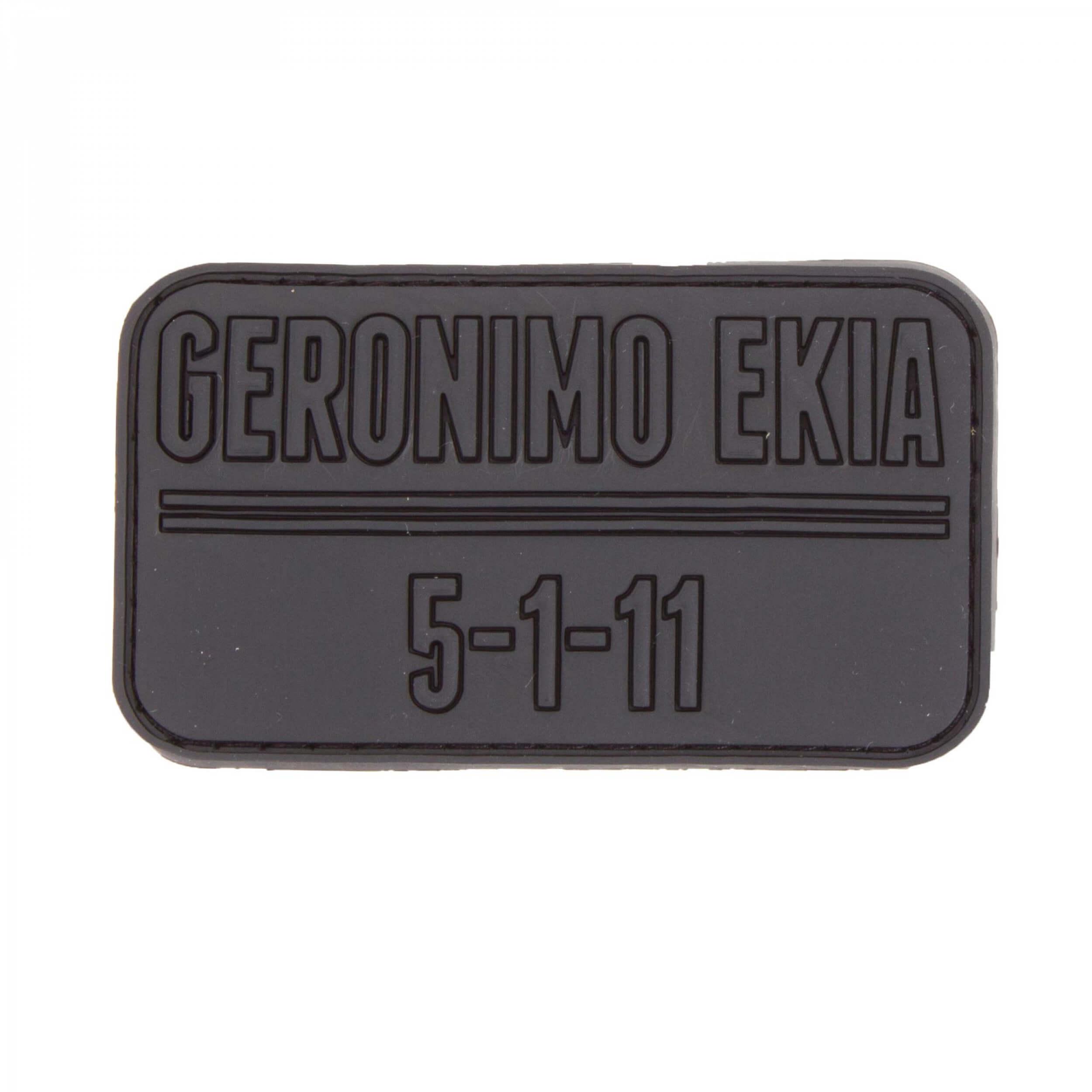 JTG Geronimo Ekia Patch black