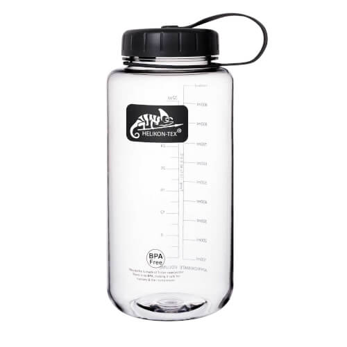 Helikon-Tex TRITAN Bottle Wide Mouth (1 Liter) - Clear