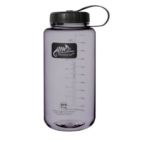 Helikon-Tex TRITAN Bottle Wide Mouth (1 Liter) - Schwarz