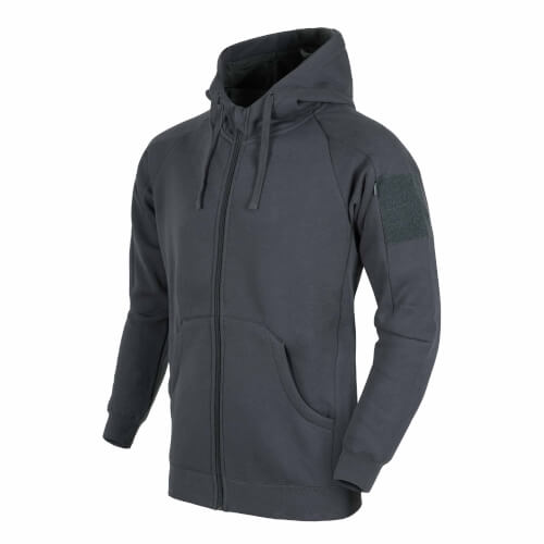 Helikon-Tex Urban Tactical Hoodie Lite (FullZip) - Grey