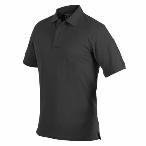 Helikon-Tex UTL Polo Shirt - TopCool Lite - Schwarz