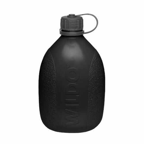 Wildo Hiker Bottle Trinkflasche (700 ml) - Schwarz (ID 4111)