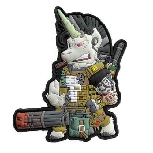 Thunderhoof Tactical Unicorn Einhorn Patch by HIWEZ