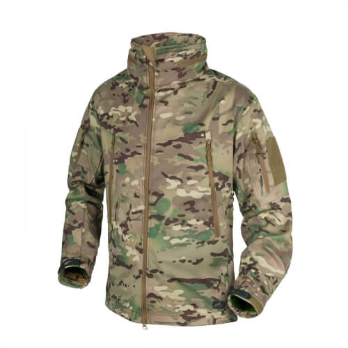 Helikon-Tex Gunfighter Jacke - Shark Skin Windblocker - Camogrom