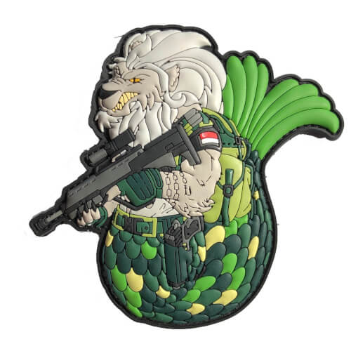 SINGAPORE MERLION Patch