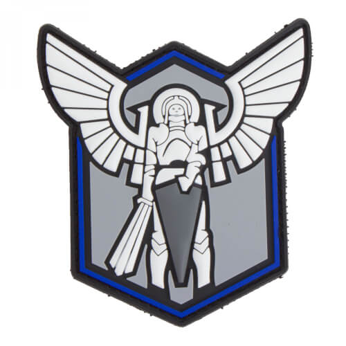 Archangel SAINT MICHAEL STRIKE TBL (THIN BLUE LINE) - 3D PVC Patch