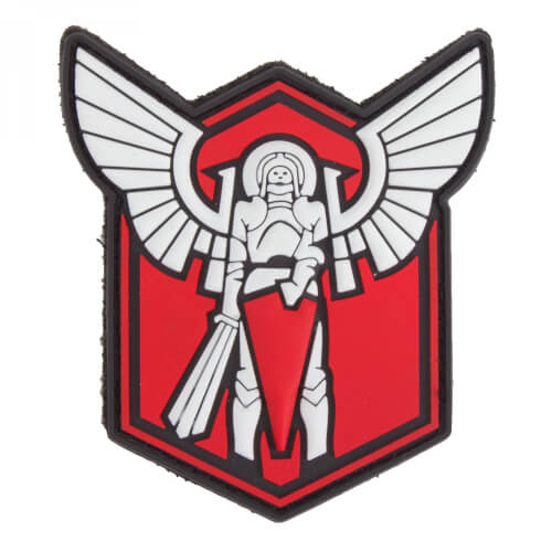 Archangel SAINT MICHAEL STRIKE 3D PVC Patch - red