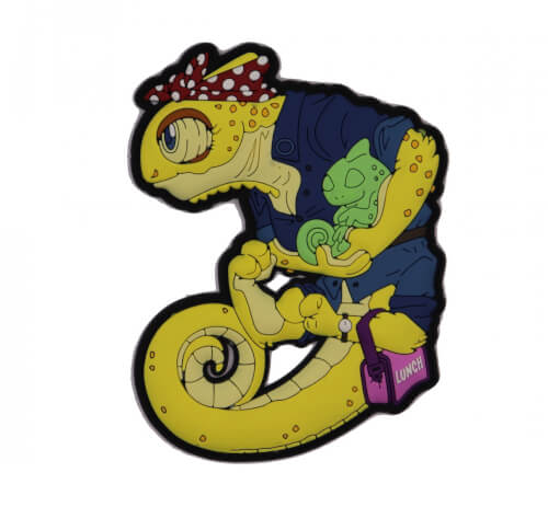 Chameleon Legion Muttertag MotherDay Patch