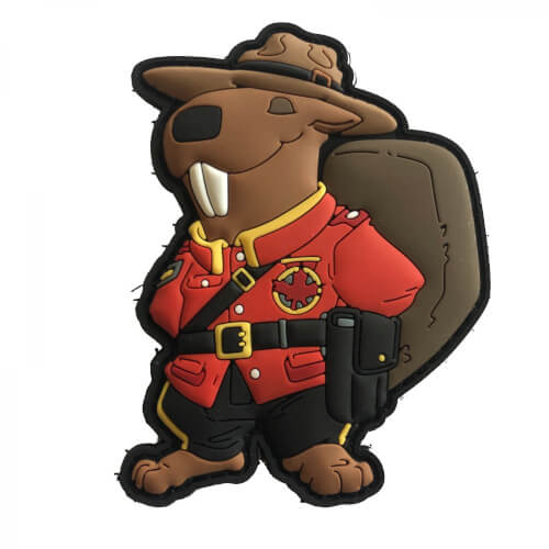 CANADIAN MOUNTIE BEAVER RANGER PATCH