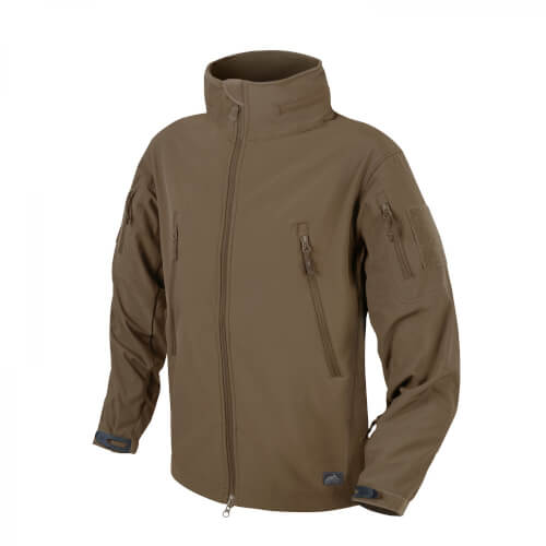 Helikon-Tex Gunfighter Jacke - Shark Skin Windblocker - Mud Brown