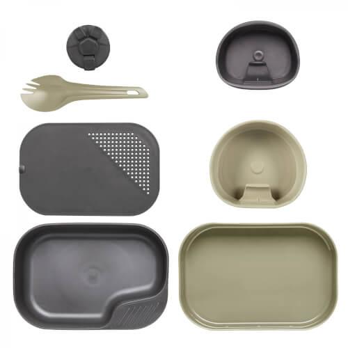 Wildo CAMP-A-BOX Complete - Khaki / Grey A (ID W10265)