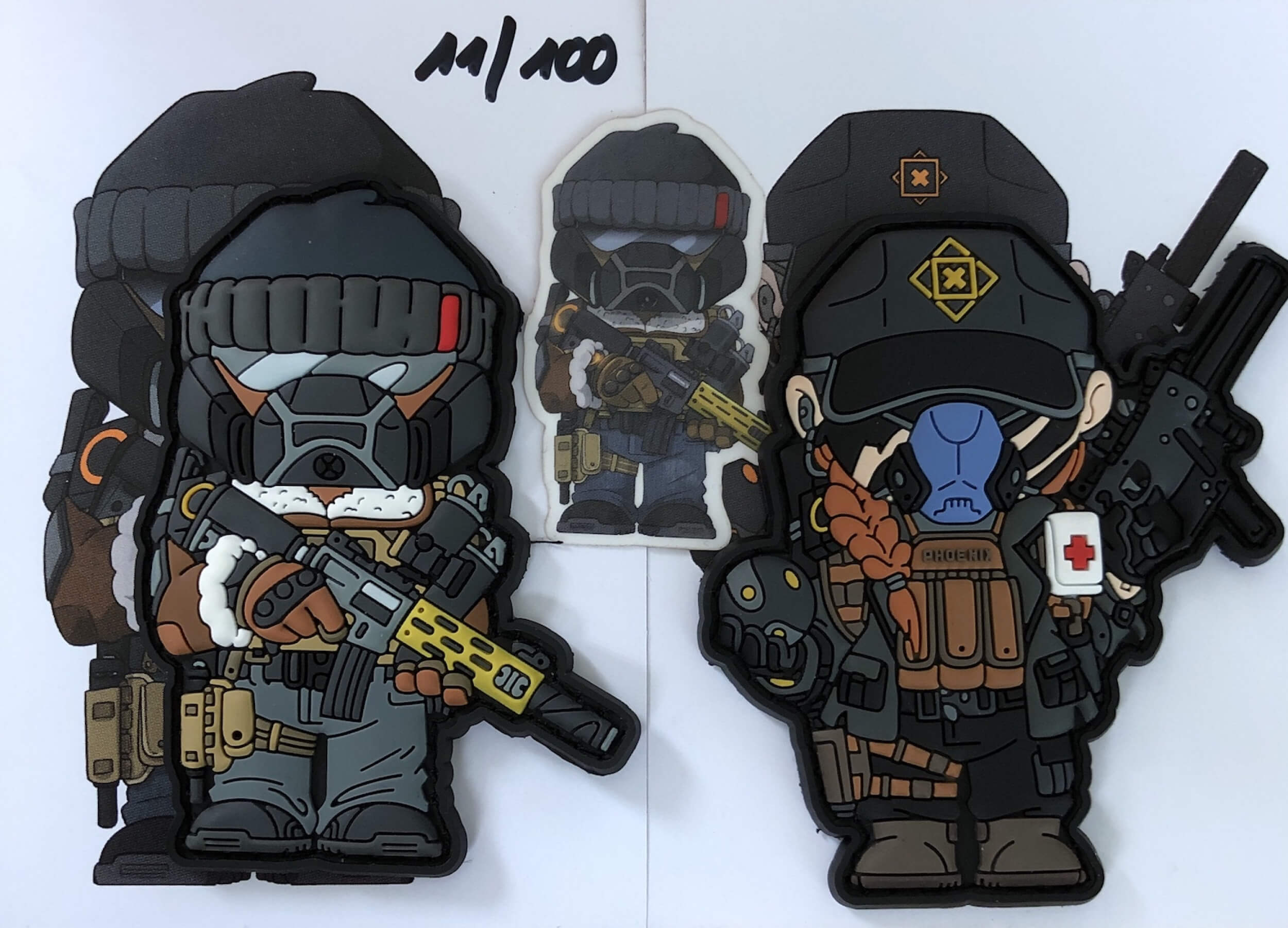 Mini Merch Military Agents Division Patch (gb)
