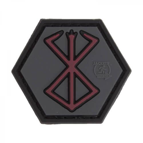 JTG Berserker Rune - 3D PVC Hexagon Patch - swat