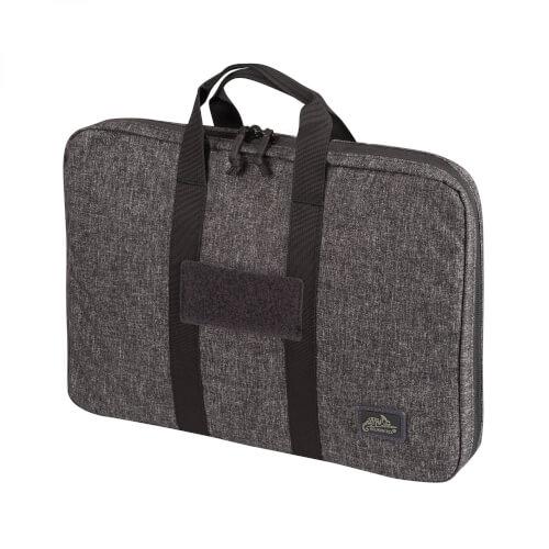 Double Pistol Wallet -Nylon- Melange Black-Grey