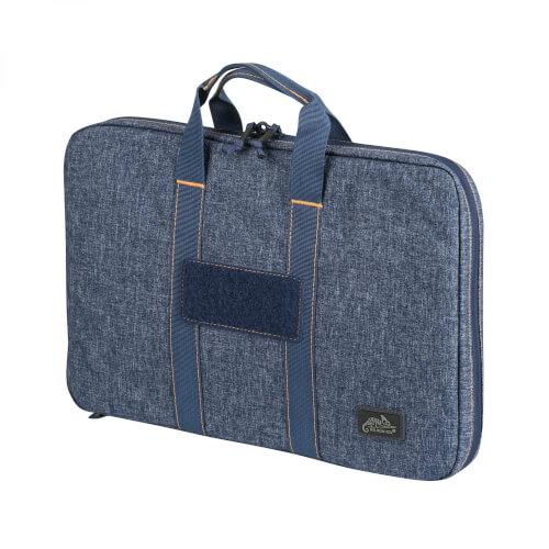 Double Pistol Wallet -Nylon- Melange Blue