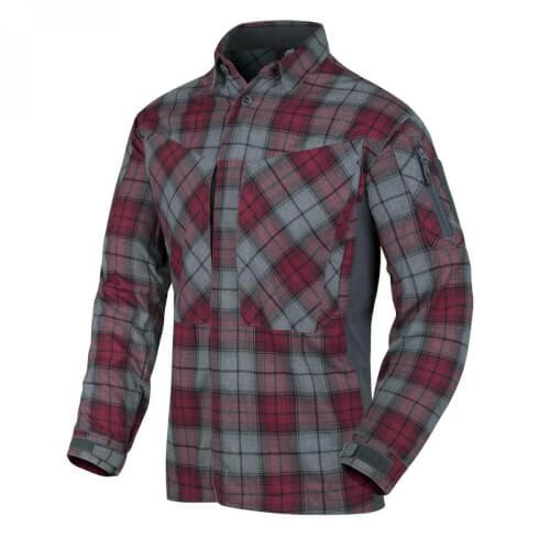 Helikon-Tex MBDU Flannel Shirt® - Ruby Plaid