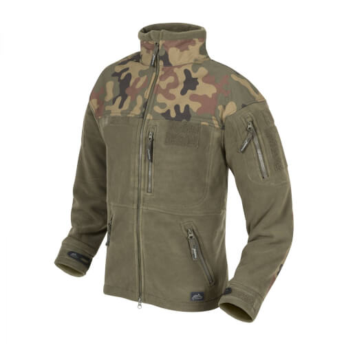 Helikon-Tex Infantry Jacke -Fleece- Olive Green / PL Woodland