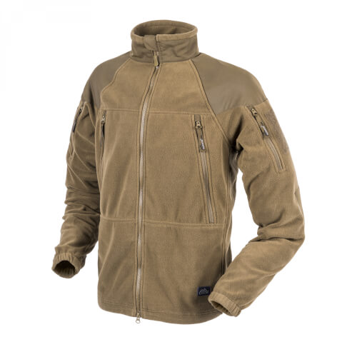 Helikon-Tex Stratus Jacke - Heavy Fleece - Coyote