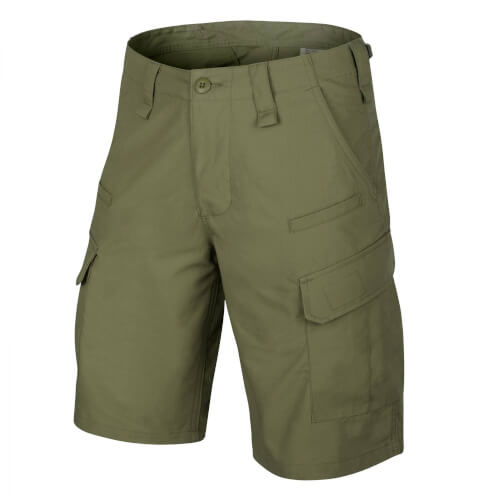 Helikon-Tex CPU Shorts - PolyCotton Ripstop - Olive Green
