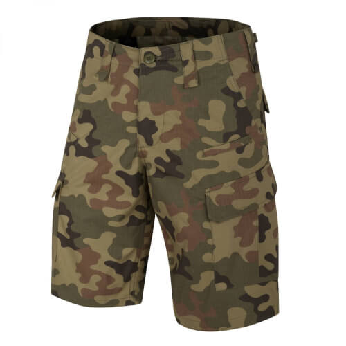 Helikon-Tex CPU Shorts - PolyCotton Ripstop - PL Woodland