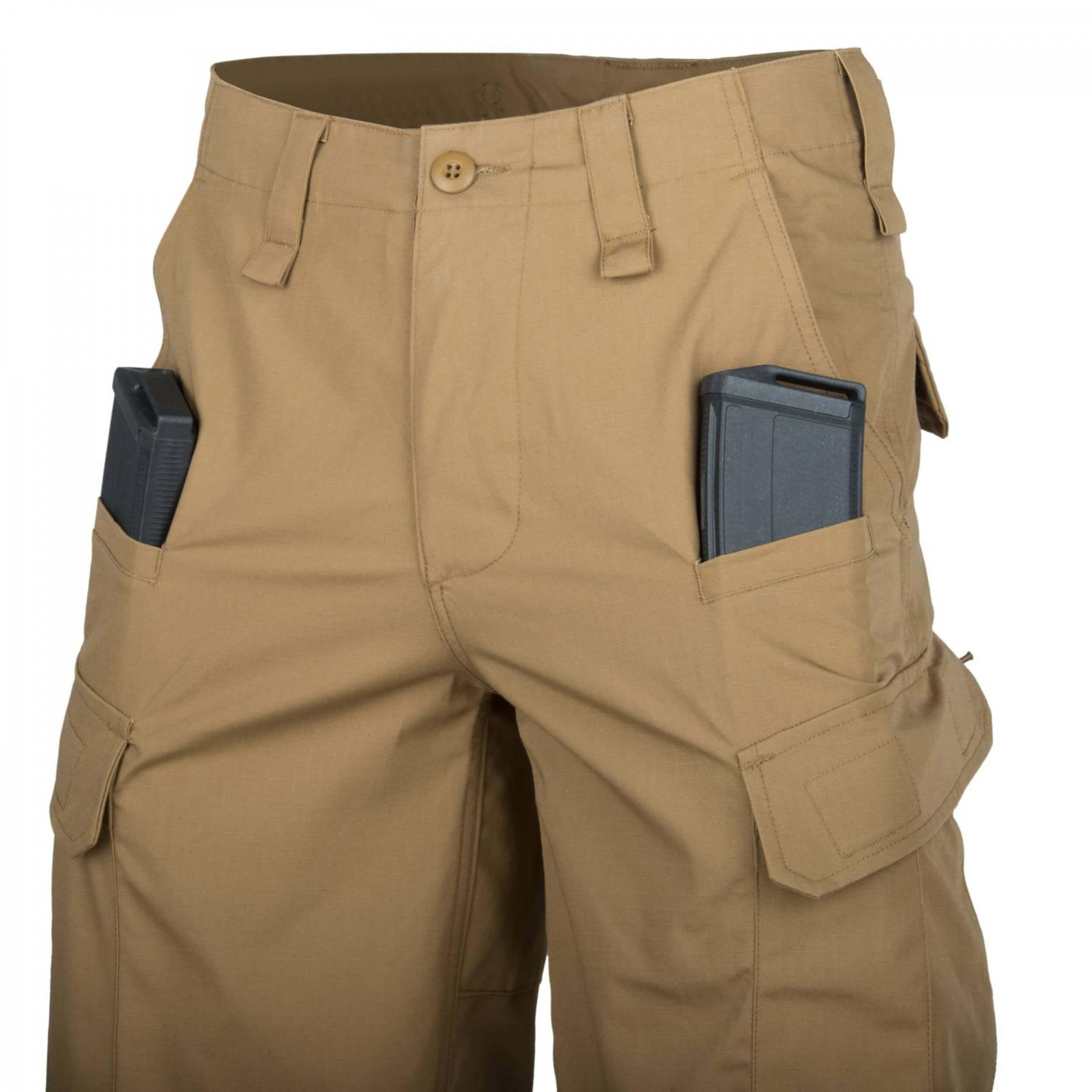 Helikon-Tex CPU Shorts - PolyCotton Ripstop - Khaki