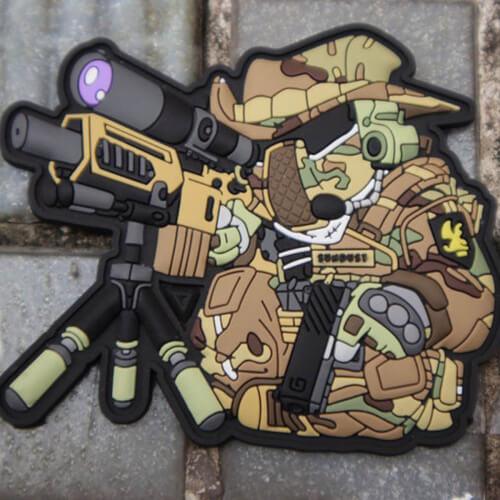 TACOPSGEAR TactiCat Opurrators #2 Rubber Patch 3D