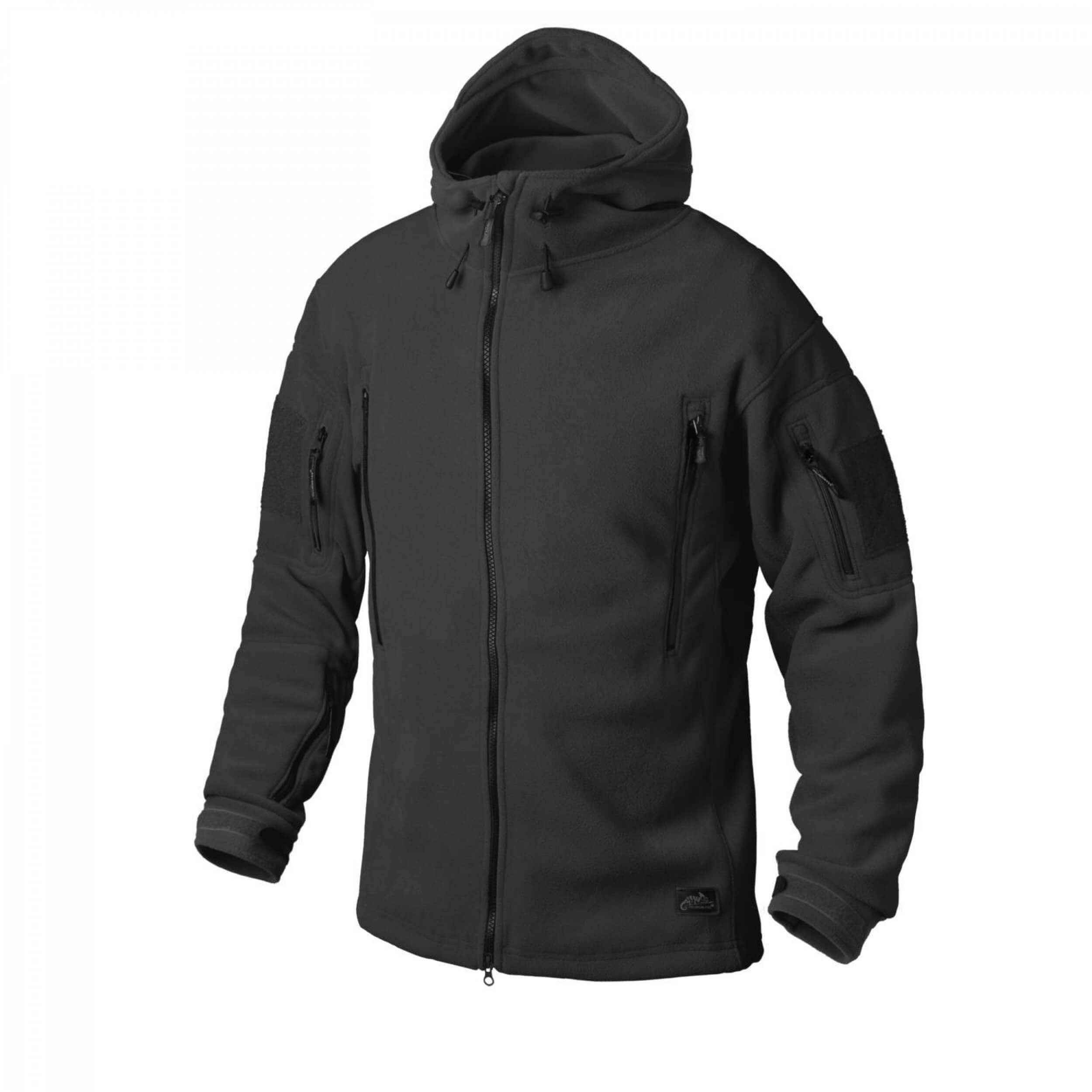 Helikon-Tex Patriot Jacke -Double Fleece- Schwarz