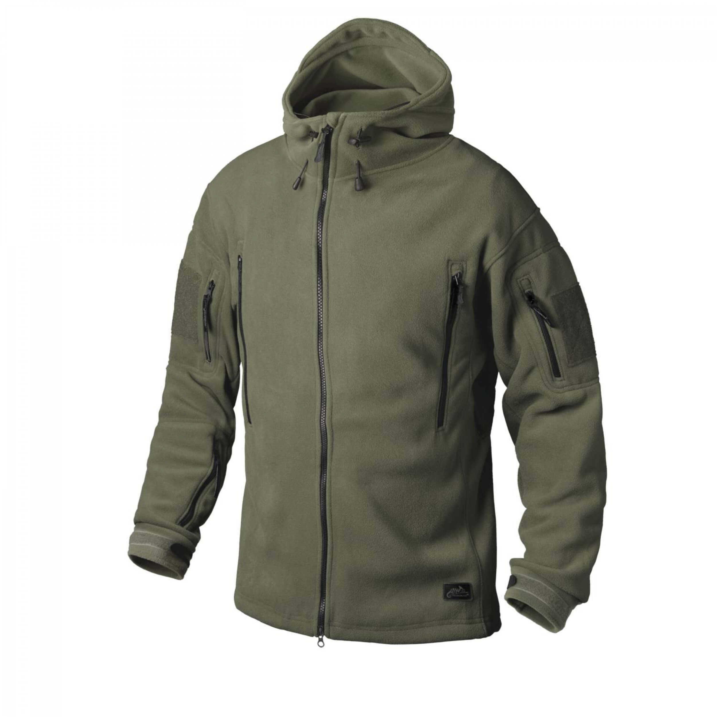 Helikon-Tex Patriot Jacke -Double Fleece- Olive Green