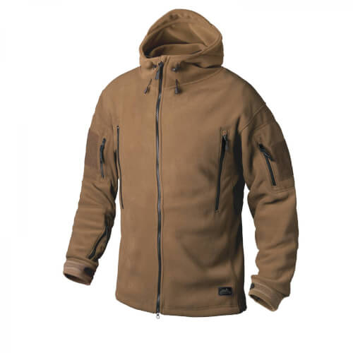 Helikon-Tex Patriot Jacke -Double Fleece- Coyote