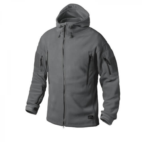 Helikon-Tex Patriot Jacke -Double Fleece- Shadow Grey