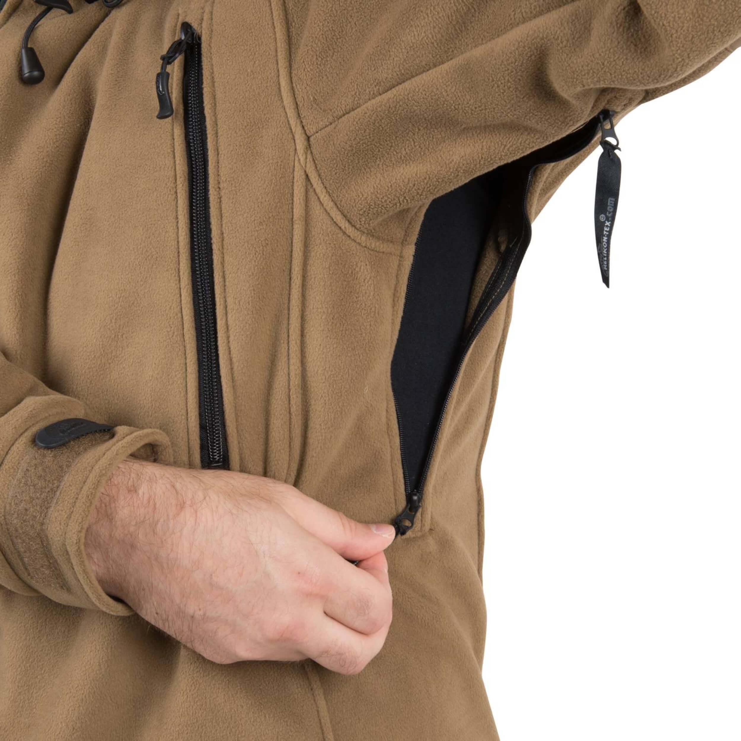 Details zu Helikon Tex Patriot Jacke Double Fleece Navy Blue