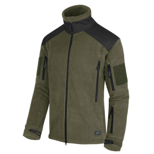 Helikon-Tex Liberty Jacke -Heavy Fleece- Oliv/Schwarz