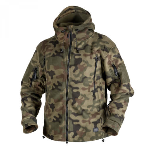Helikon-Tex Patriot Jacke -Double Fleece- PL Woodland