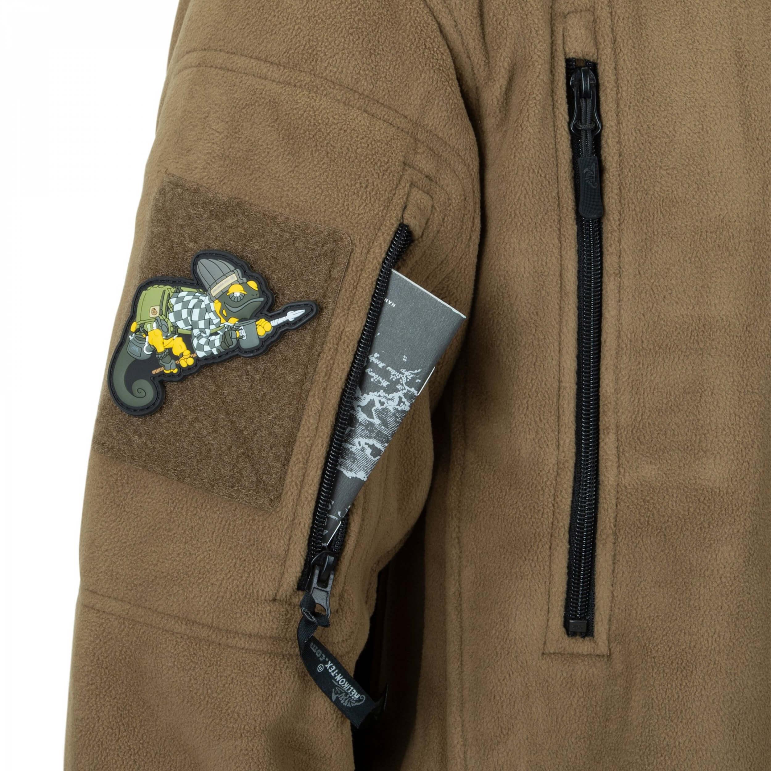 Helikon-Tex Patriot Jacke -Double Fleece- PL Woodland