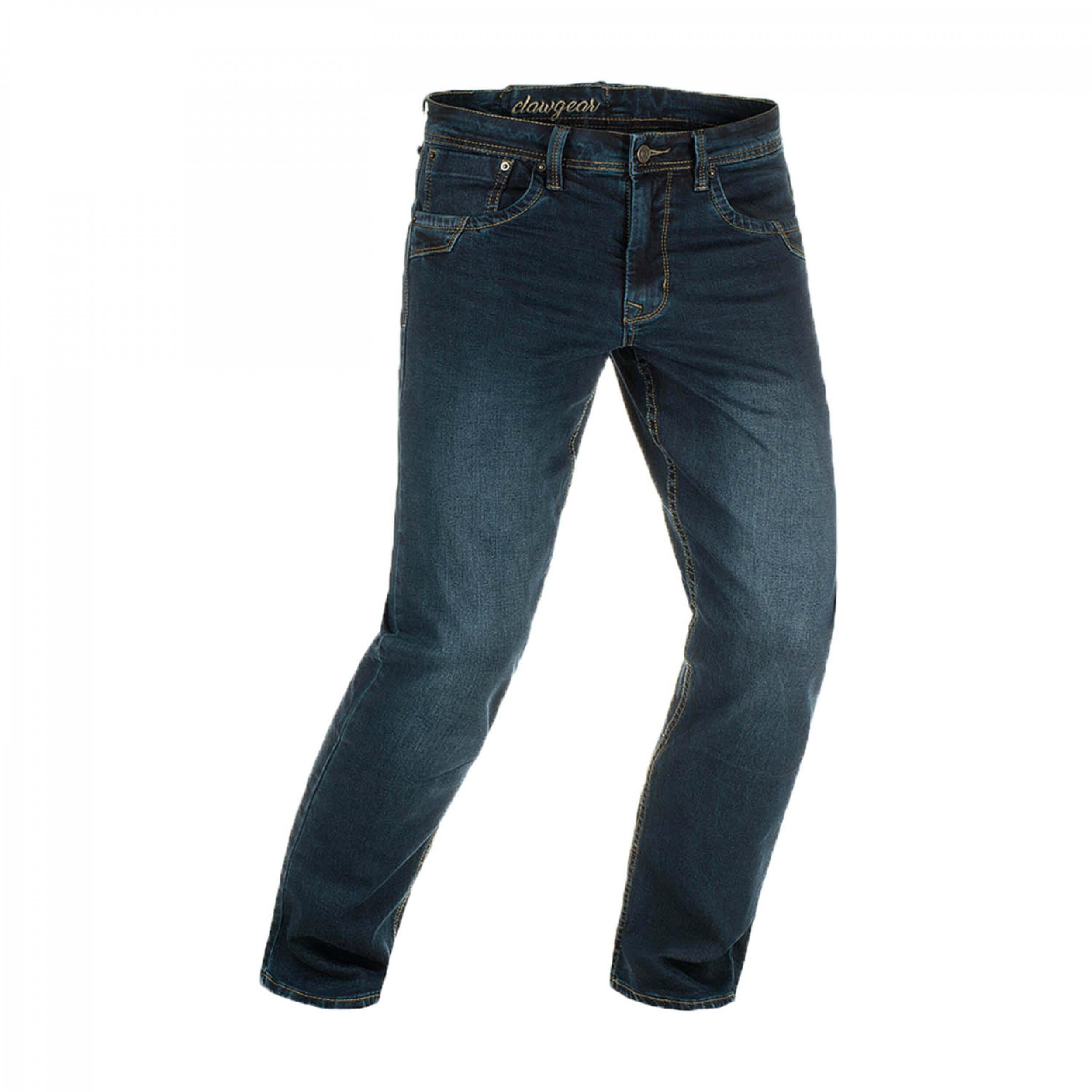 Clawgear Blue Denim Tactical Flex Jeans Washed Midnight